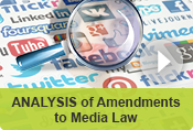 ANALYSIS of Amendments to Media Law Edit Translate